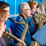 Bronte Village Gathering Cullingworth May 2018 Saxophones