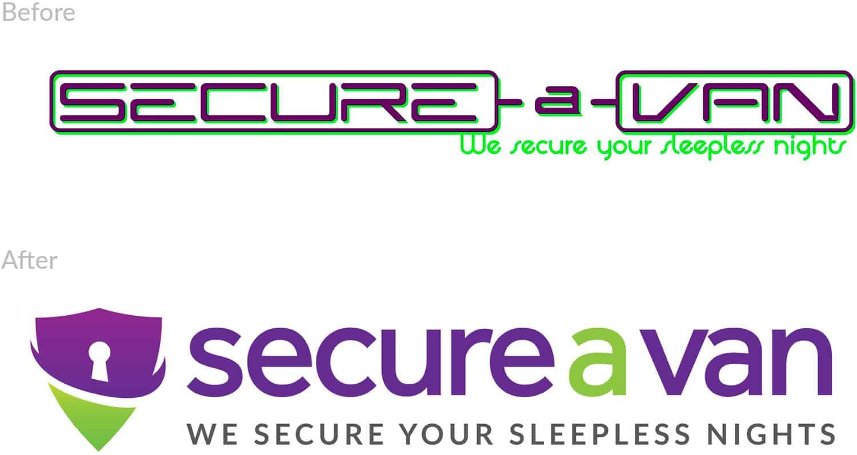 secure a van rebrand