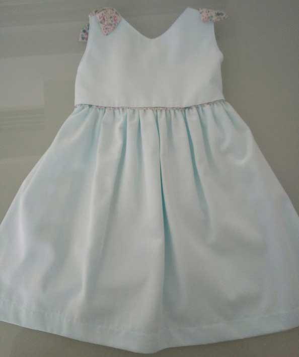 Φόρεμα ανοικτό σιέλ 13513