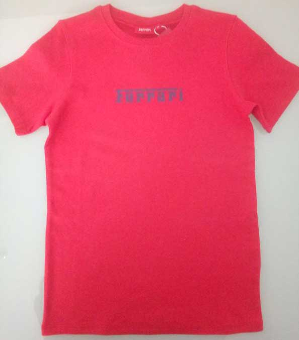 T-shirt Κόκκινο 15300