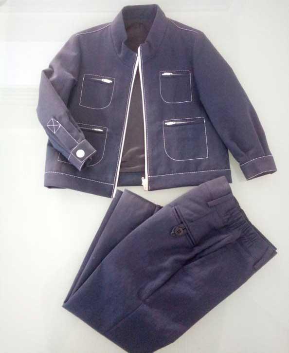 Σύνολο μπουφάν παντελόνι17081