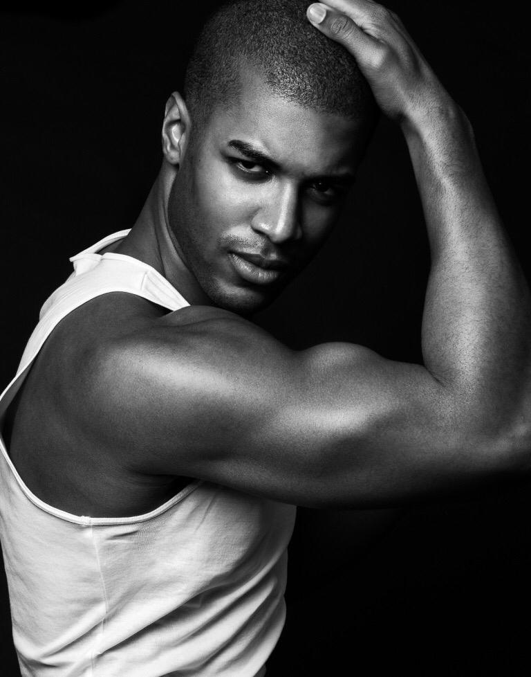 Darius Williams (Soul Artist Management) by Brian Jamie in his Garçon Model Underwear