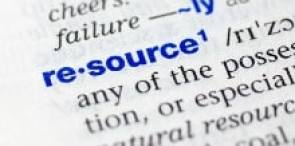 Image of a dictionary definition of resource. Meant to complement the notion that this is the best one-stop shop for small business DIY SEO tools and resources. Aimed at helping small business owners and web design firms.