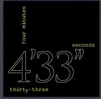 John Cage 4 33