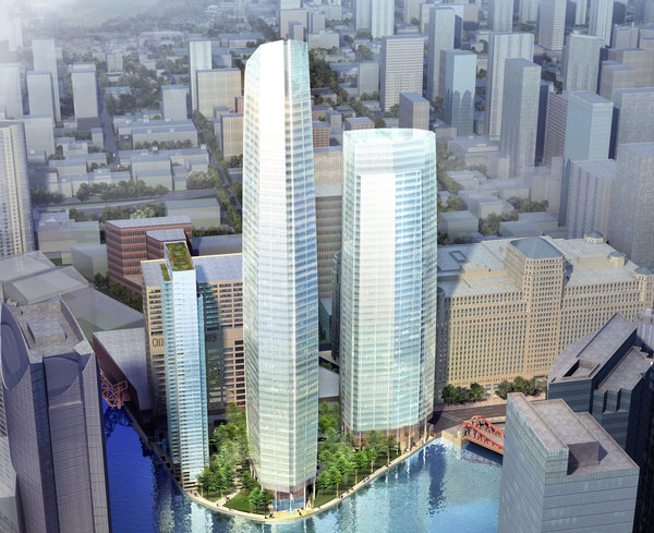 Chi developers give first glimpse of proposed buildings