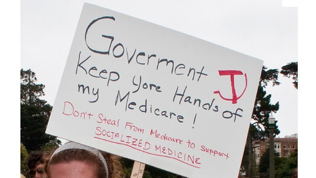 Keep govt hands off my medicare