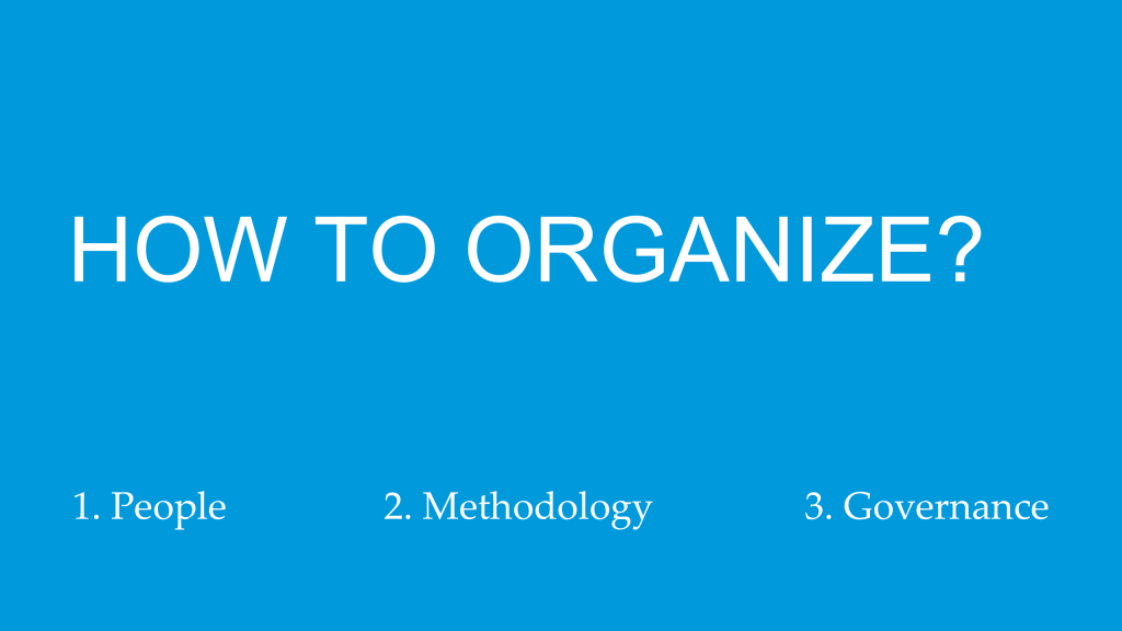 organizing for content culture: 3 key success factors