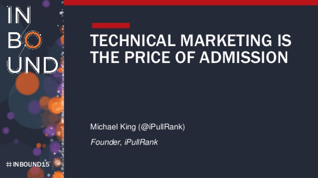 best marketing ebooks 2015 - technical marketing