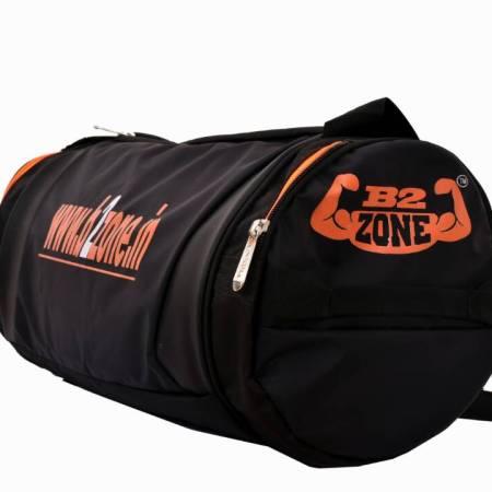 226b575bf7f Stylish B2zone Pro Sports Duffel Gym Bag (Orange