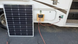 Connecting Solar Panels to RV ZAMP connections