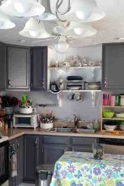 Painting My Kitchen Cabinets Gray