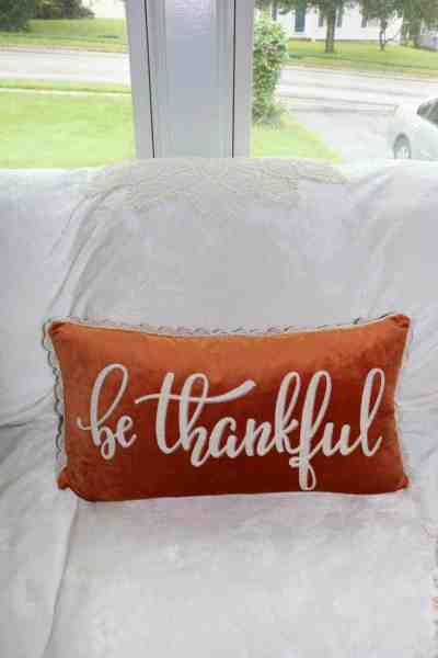 Thanksgiving Fall Decor Part One