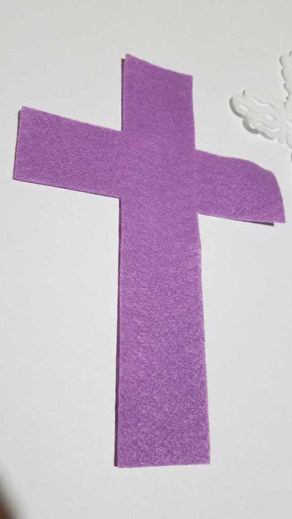solid felt cross