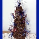 Fireworks Pine Cone Tree