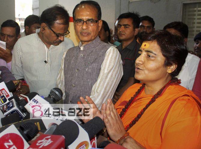 Digvijay Singh and Sadhvi Pragya