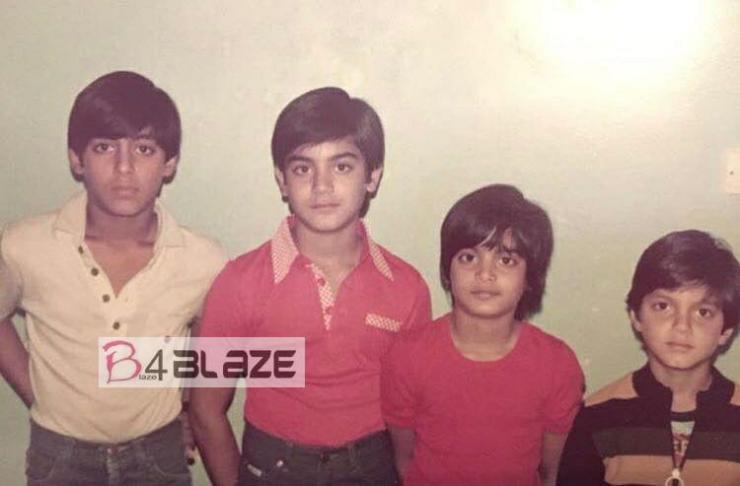 Salman Khans Childhood Image