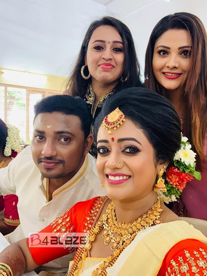 Preetha Pradepp wedding photos