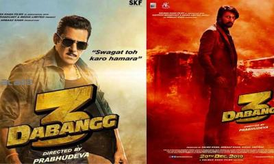 Salman Khan has been solely credited for the story of Dabangg 3