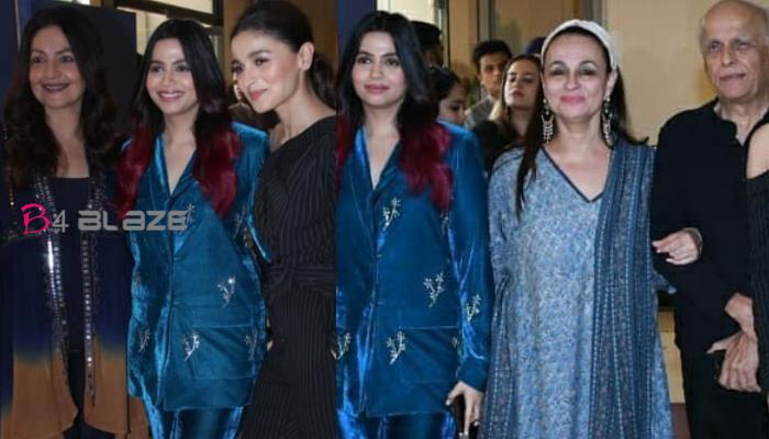 Alia Bhatt and Family