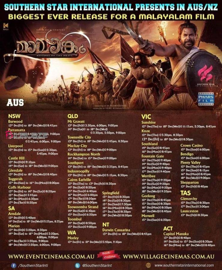 Mamangam Worldwide Theatre List 5
