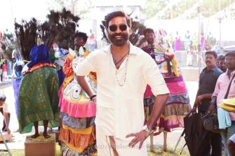 Actor Dhanush in Pattas Movie HD Images