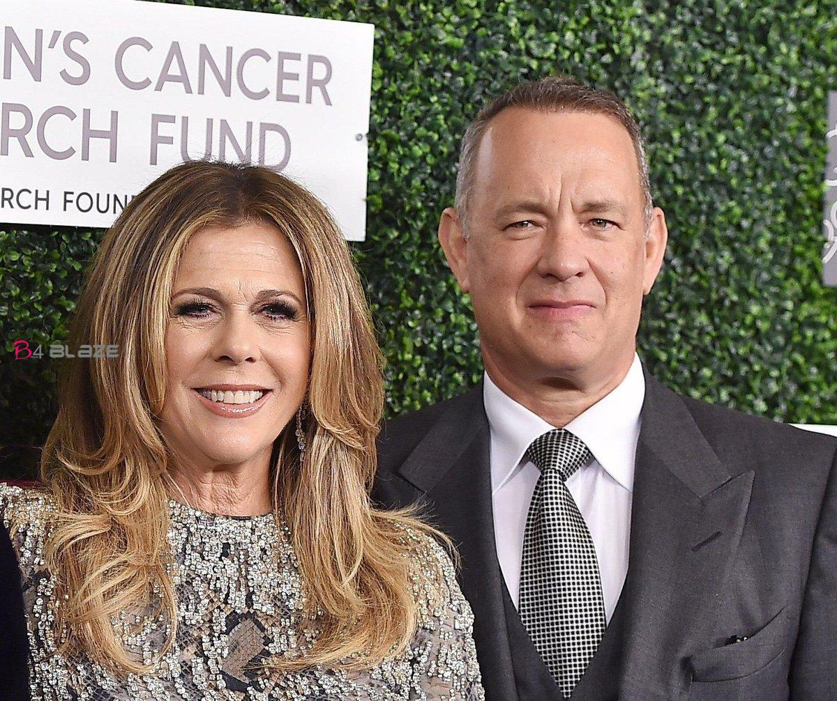Tom Hanks and Wife Rita