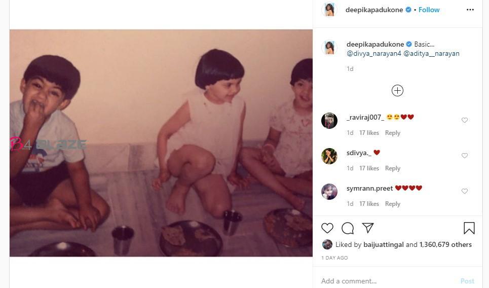 Deepika Padukone's Instagram Post