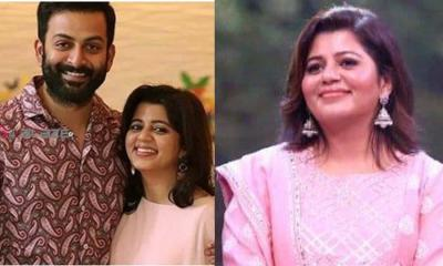 Supriya Post about Prithviraj