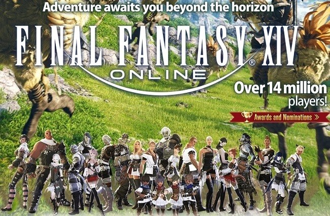 Final Fantasy XIV - on of the best mmo & mmorpg on our list