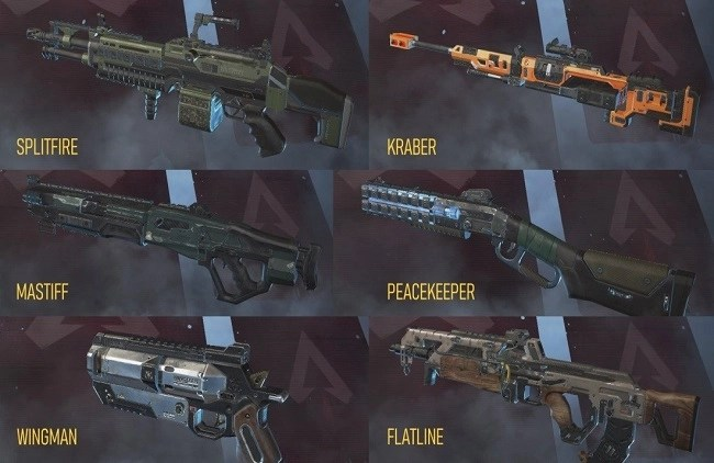 What would be the Preferred Loadouts of the Apex Legends Roster? 2