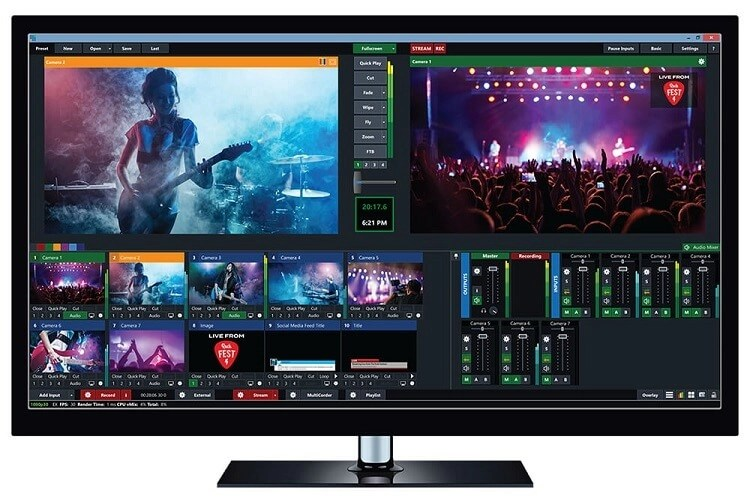 video Streaming Software - vMix