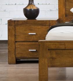 california nightstand solid rubberwood rustic oak bedroom furniture uk b5furniture