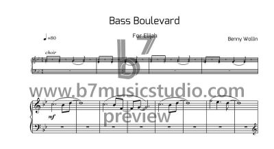 Bass Boulevard - Sheet Music Preview