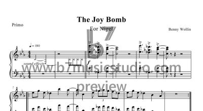 The Joy Bomb - Primo - Sheet Music Preview
