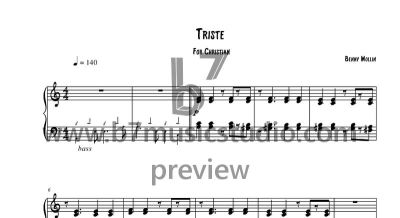 Triste - Sheet Music Preview