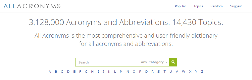 allacronyms