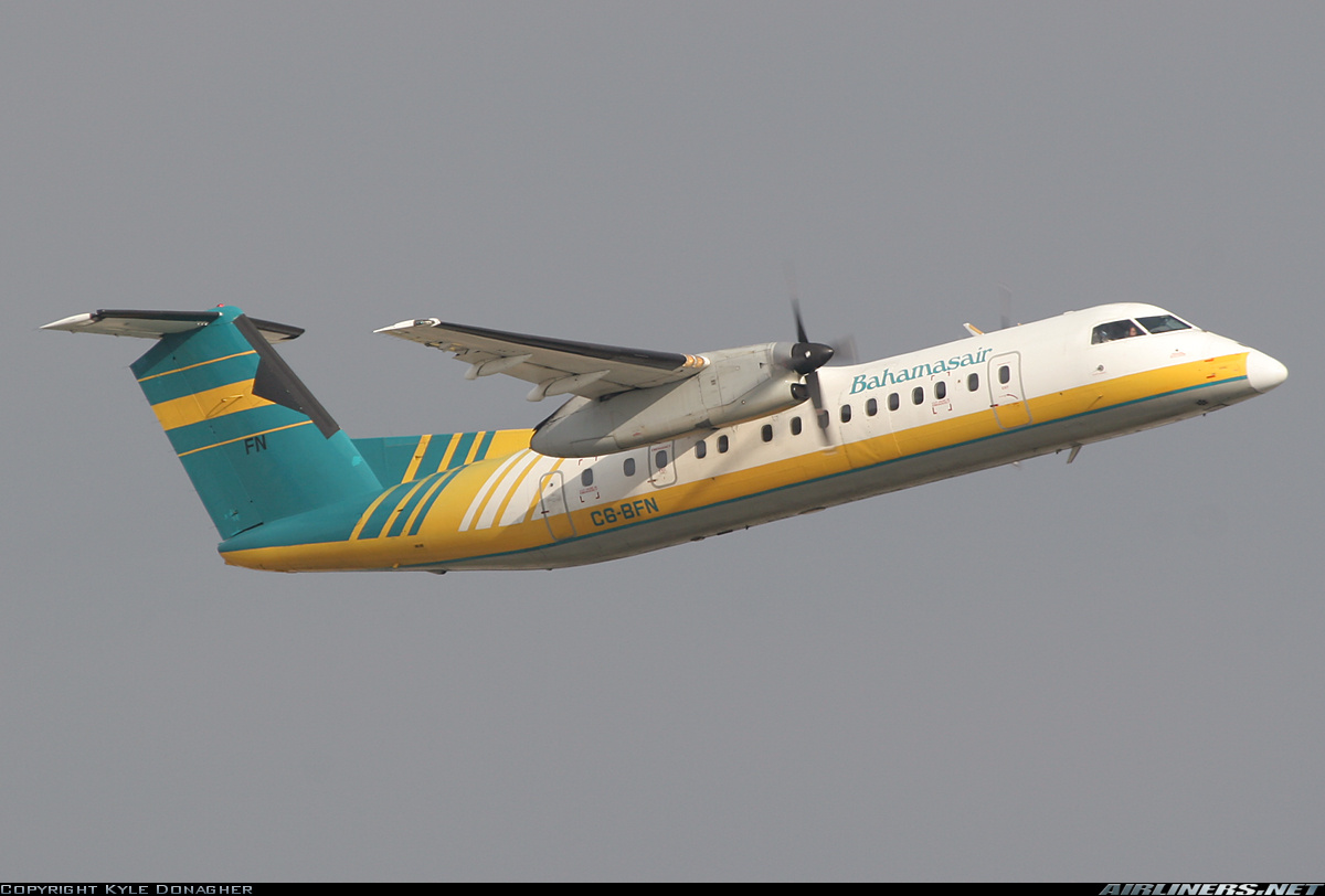 De Havilland Dash 8 300 Bureau Of Aircraft Accidents