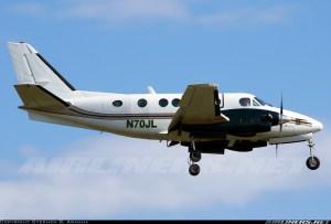 Crash of a Beechcraft King Air A100 in Deadmans Cay