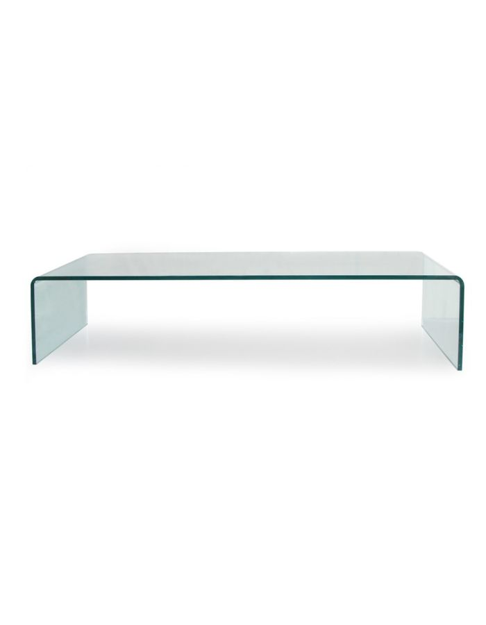 meuble tv verre