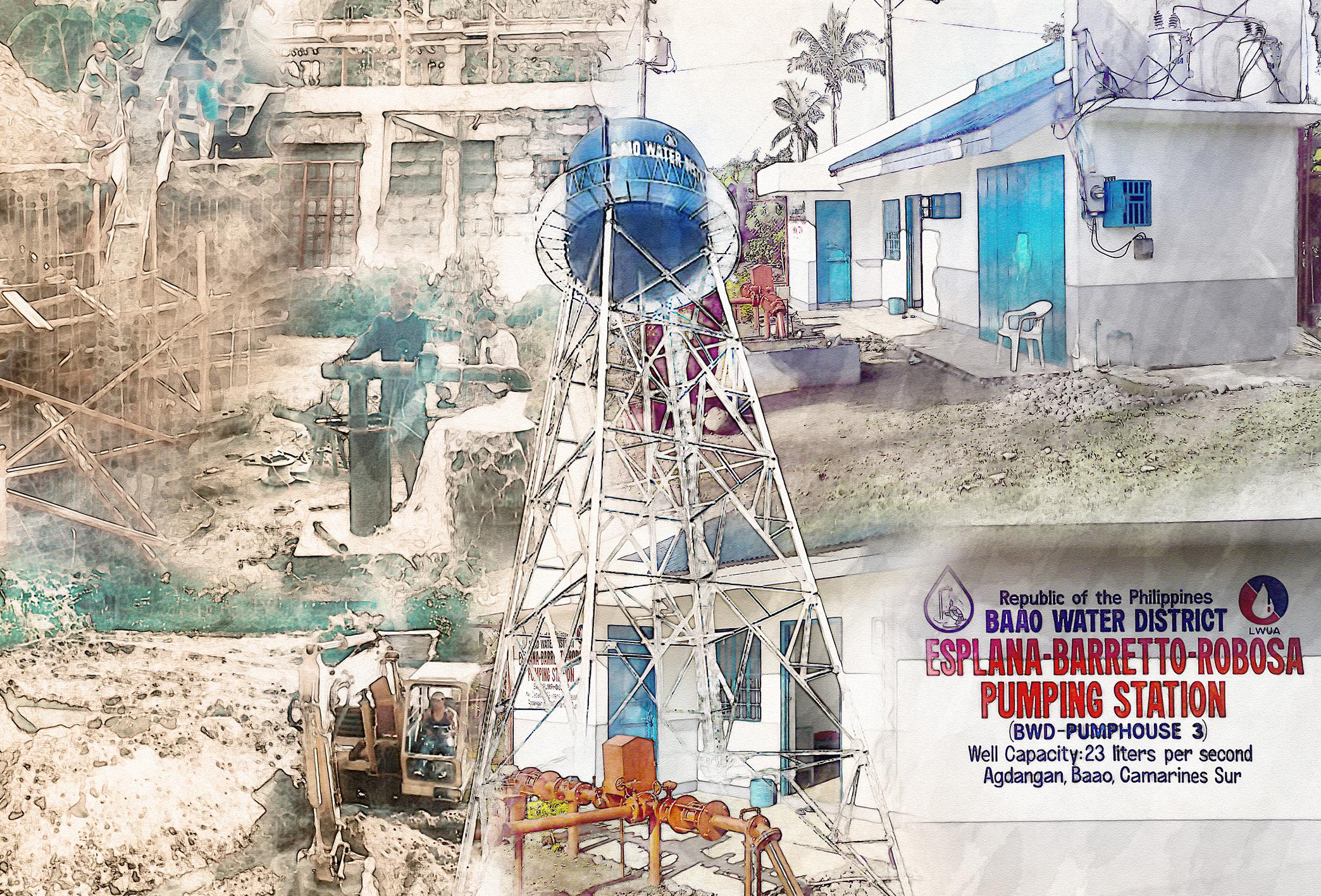 Esplana-Barreto-Robosa Pumping Station at Barangay Agdangan, Baao, Camarines Sur