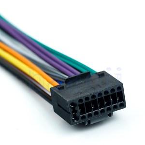16 Pin JVC Car Stereo Radio Wire Wiring Harness Plug Cabke MA