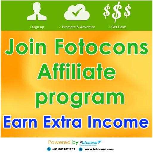 Fotocons affiliate program