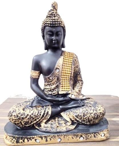 Lord Buddha Statue -Mix polymer resin made