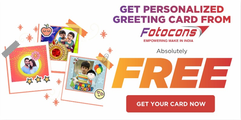 Free greetings card from Fotocons