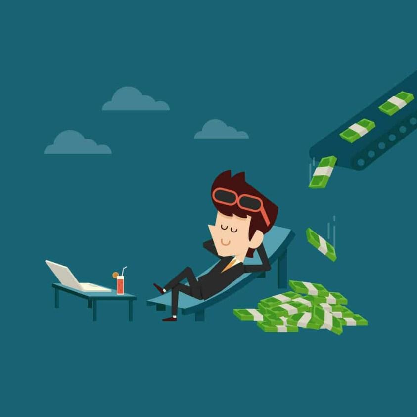 Passive income source