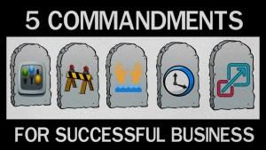 5 commandments of fastlane track-CENTS