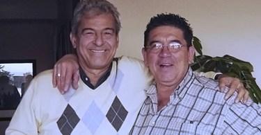 Antonio Cisneros y Harold Alvarado Tenorio