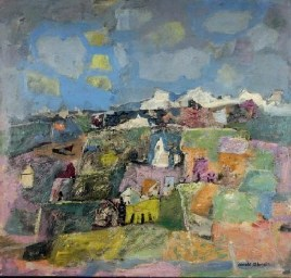 Abstract Landscape - Arnold Blanch