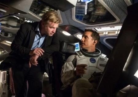 Nolan dirigiendo a Matthew McConaughey