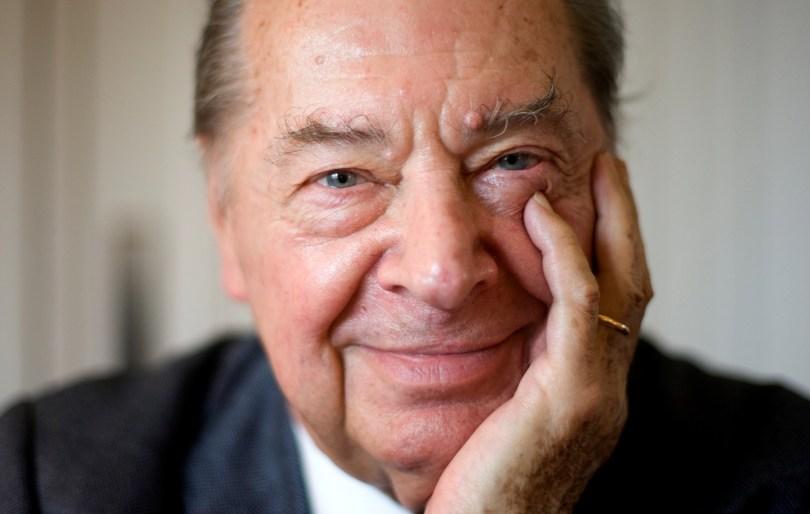 Madrid, 21 de diciembre de 2010. Entrevista a el director de orquesta Rafael Frubeck de Burgos. Foto: © IGNACIO GIL. .....archdc.....